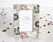 Wedding Photo Frame Bride Groom Gift Idea 6x4 Picture Frame Shabby Photo Frame