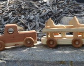 Horse Truck, Trailer, Redwood, Heirloom, Handmade