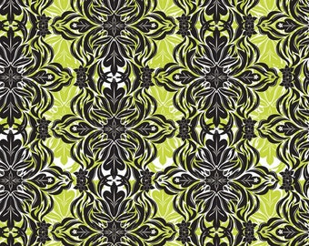 Modern Lace Green (118.101.04.1) - Modern Eclectic Collection by Khristian Howell - Blend Fabrics - 1 yard