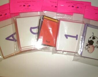 Preschool Flash Cards, Toddler Flashcards, Kindergarten, LAMINATED, Montessori Toddler, Preschool Learning, Toddler Learning, Teacher, Kids