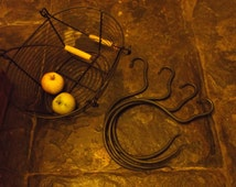 Limb Hooks, Blacksmith forged.