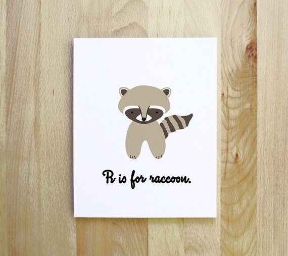 R Is For Raccoon R is for Raccoon woodl...