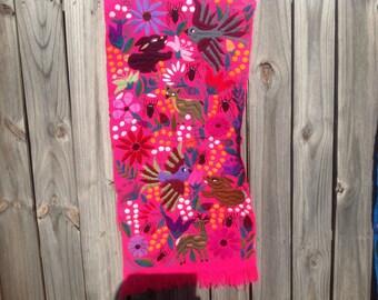 Sale - Vibrant Chiapas Textile with Electric Color