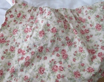 Eddie Bauer Queen Dust Ruffle Bed Skirt Floral