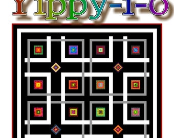 YIPPY-I-O - Quilt-Addicts Patchwork Quilt Pattern
