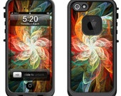 Lifeproof iPhone 6 Fre, LifeProof iPhone 5 5S 5C Fre Nuud, Lifeproof iPhone 4 4S Fre Case Decal Skin Cover - Fractal Flower