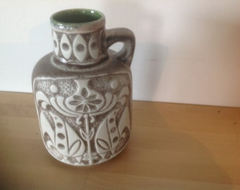 Vintage West Germany  ceramic vase Bay