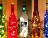 Custom Order Lighted Bottle
