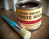 Paint Wax, Brown Wax, Furniture Wax, Wax Seal, Chalk Paint Wax, Painted Furniture, ReClaimed Wood, Wood Signs, Wax Brush, DIY Kit, Pallets