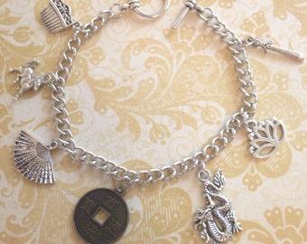 Mulan Charm Bracelet