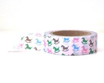 Rocking Horse for Babies Washi Tape