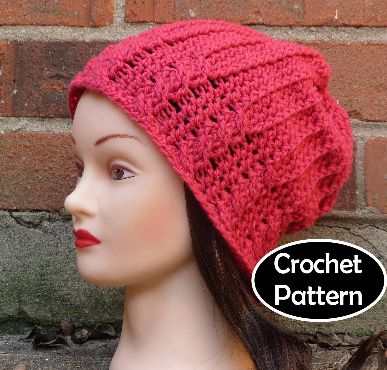 Crochet Hat Pattern Download : CROCHET HAT PATTERN Instant Download Pdf Quinn by AlyseCrochet