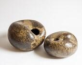 Danish Studio Pottery Sculptures, or Ikebana Vases.