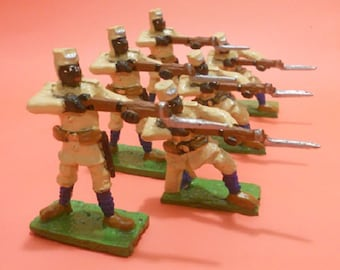 German Schutztruppe 54mm Colonial Africa Toy Soldiers