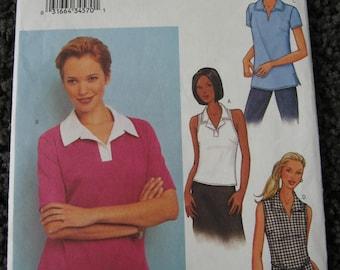 Butterick Womens Misses Pullover Tank Top Shirt Pattern 3386 Size 12 14 16  Uncut UC
