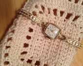 MARKDOWN -- I am selling my antique watches.  Vintage Ladies Hamilton wristwatch. 10k RGP.  Clean and pretty in working condition.