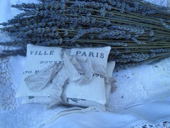 75 French Paris Favors, Lavender Sachets, Vintage, Farmhouse, Angels ...