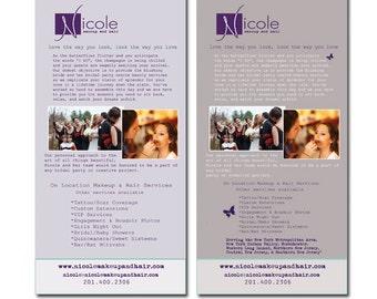 Custom Rack Card - Marketing Material - Custom Promotional Stationary - Vista Print Ready