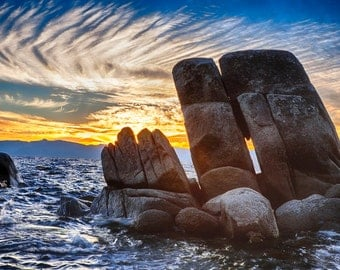 Lake Tahoe Rocks