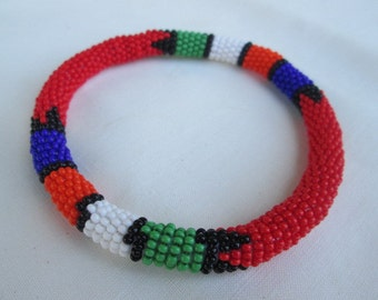 South Africa bracelet made of beads