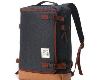 Multipocket Backpack (Black)