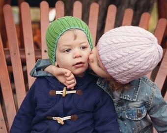 Siblings (hat knitting pattern)