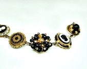 """Recaptured Reclaimed Repurposed UpCycled Unique OOAK Earring Bracelet Mothers Day Gift Bridesmaid Gifts  - """"Enchanted Cameos"""""""