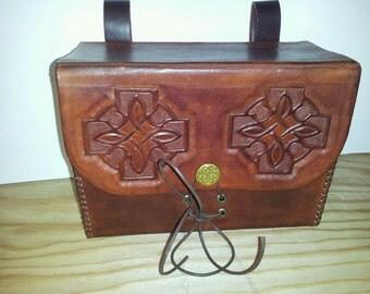 Celtic Leather Belt Pouch armor