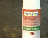 Finally! A Natural Deodorant that actually works - Roll-On Dragons Blood Scent