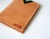 Leather Card Holder, Oyster Cardholder, Travel Card Holder, Handmade in UK, Monogrammed Wallet, Leather wallet for Her for Him