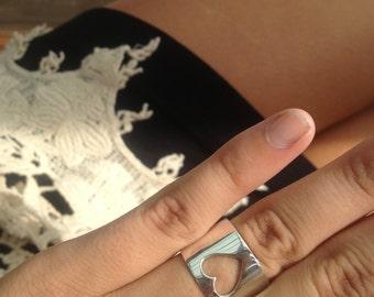 CARLA handmade sterling silver ring
