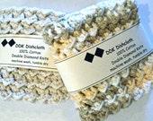 Dishcloths or Washcloths, set of 2 100% cotton 'cream and sugar' crochet
