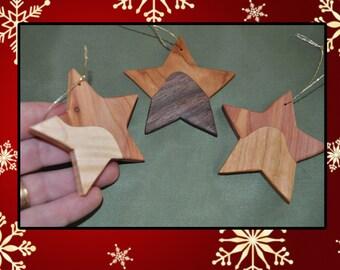 Christmas star ornaments - 3