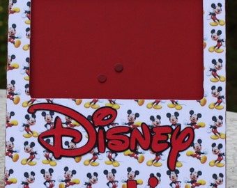 Disney Vacation picture frame
