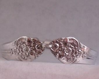 1948 Plantation Silverplate Spoon Bracelet