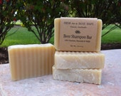 Beer Shampoo Bar with Oatstraw, Horsetail & Nettle - and Argan Oil, Natural Shampoo Bar