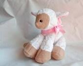 Personalized Stuffed Animals- Lamb