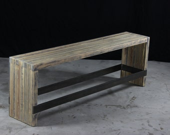 Countertop Height Bench : original counter bench