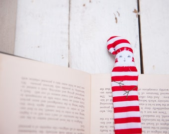 Christmas Gift Striped Candy Cane Bookmark