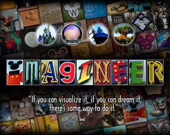 Imagineer - Walt Disney Inspirations - Fine Art Photo