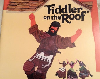 Fiddler on the Roof, movie book, 1971
