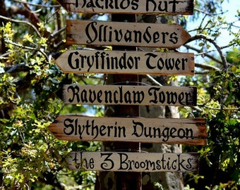 Far Away Signs - Harry Potter Signs / Signs sold individually