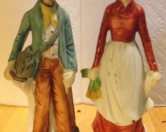 Ma & Pa Kettle Figurines