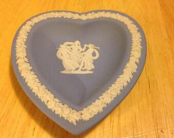 Wedgwood Heart Shaped Dish