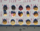 20pcs Polymer Clay Miniature Cookies (15 Flavor Options)