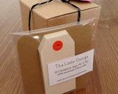 SALE - 10 mini gift tags for Christmas presents