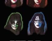KISS 1978 Solo Albums Collage Stand-Up Display - Kiss Band Kiss Collectibles Kiss Memorabilia Gift Idea Kiss Poster Kiss Army kiss76