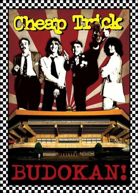 "Cheap Trick ""Budokan"" Stand-Up Display - Rock Collectibles Memorabilia Posters T-Shirts Prints Retro Bands Vintage kiss76"