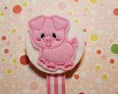 Oink the pink piggy Soothie Clip