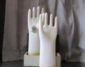 Vintage industrial glove mold / large size / idustrial decor